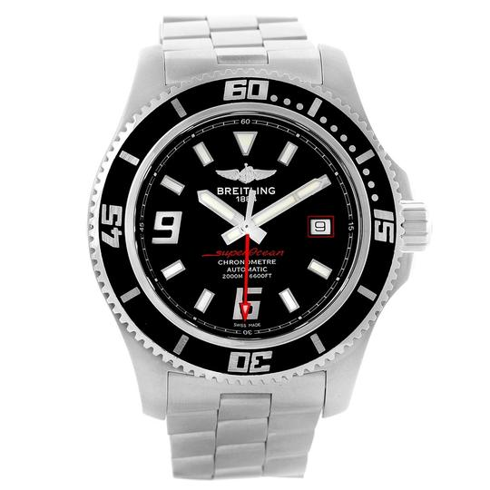 Breitling Breitling Aeromarine Superocean 44 Red Hand Mens Watch A17391 Box Image 1