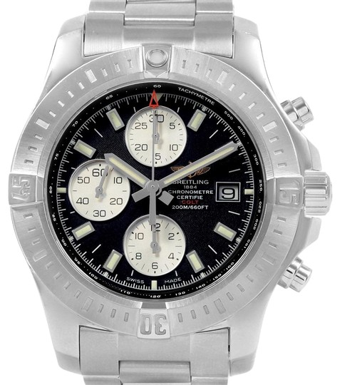Preload https://img-static.tradesy.com/item/24888247/breitling-black-colt-dial-stainless-steel-mens-a13388-box-papers-watch-0-1-540-540.jpg