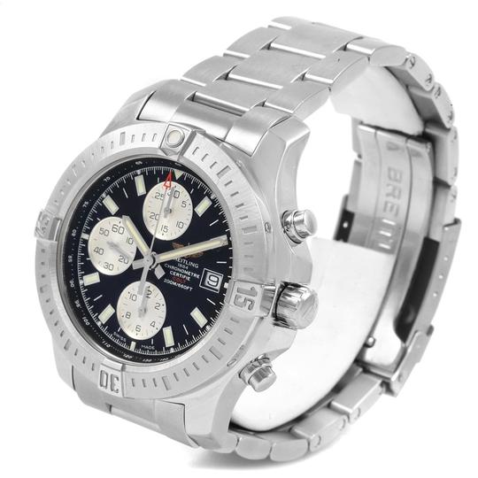Breitling Breitling Colt Black Dial Stainless Steel Mens Watch A13388 Box Papers Image 3