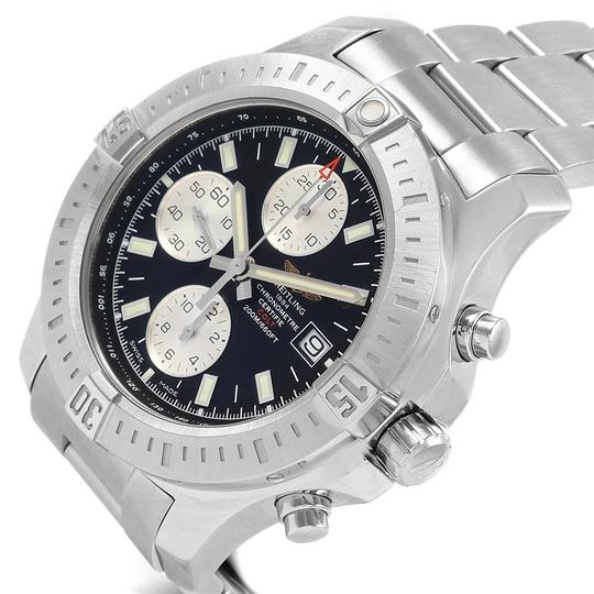 Breitling Breitling Colt Black Dial Stainless Steel Mens Watch A13388 Box Papers Image 4