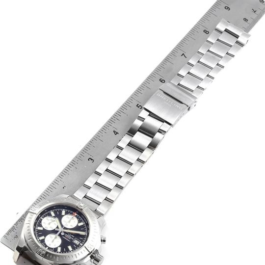 Breitling Breitling Colt Black Dial Stainless Steel Mens Watch A13388 Box Papers Image 8