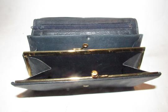Gucci vintage Gucci leather continental wallet with horseshoe accent Image 10