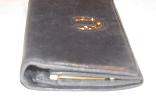 Gucci vintage Gucci leather continental wallet with horseshoe accent Image 8