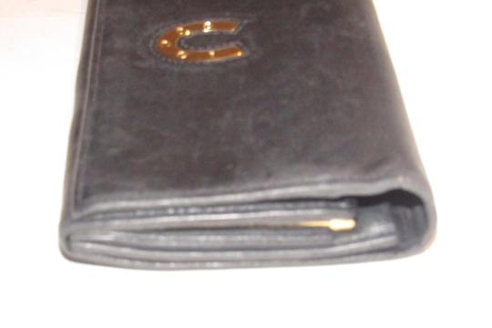 Gucci vintage Gucci leather continental wallet with horseshoe accent Image 4