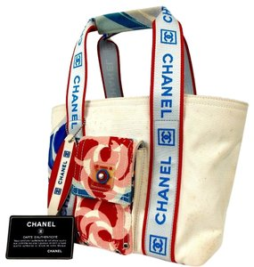 a27136a54140 Chanel Canvas Tote Bags - Up to 70% off at Tradesy