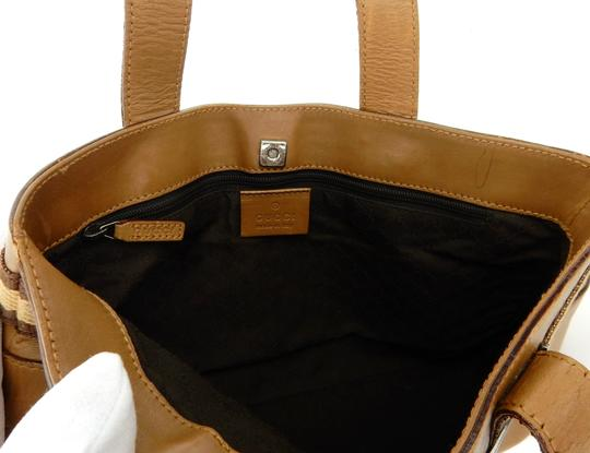 Gucci Weekender Neverfull Monogram Shopper Italy Tote in Brown Image 7