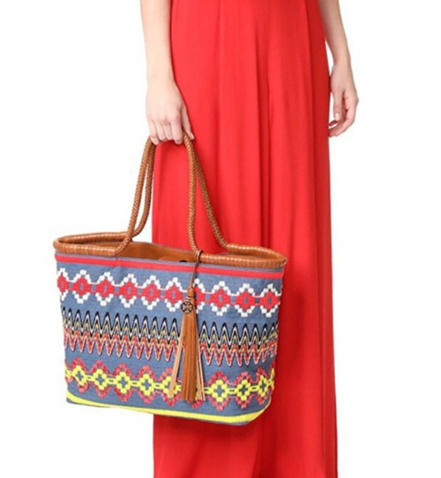 Tory Burch Tote in chambray Image 3