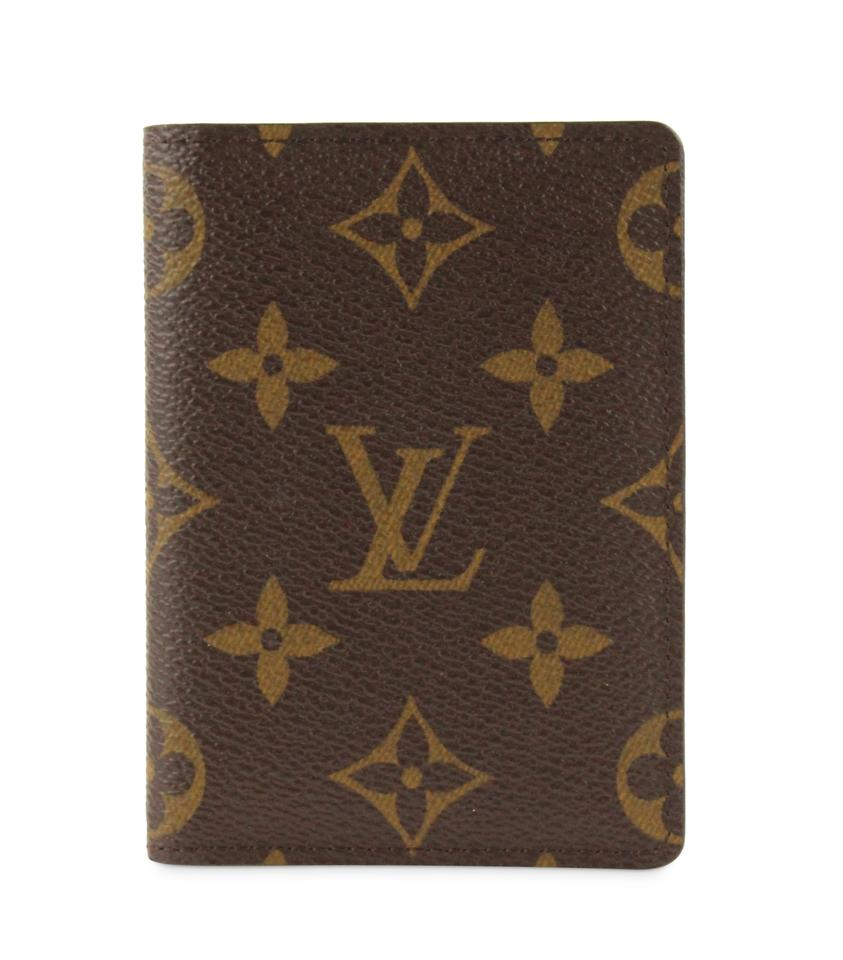 607521f5ba5b Louis Vuitton Brown Monogram Bifold Card Case Wallet - Tradesy