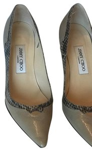 Jimmy Choo beige animal print Pumps
