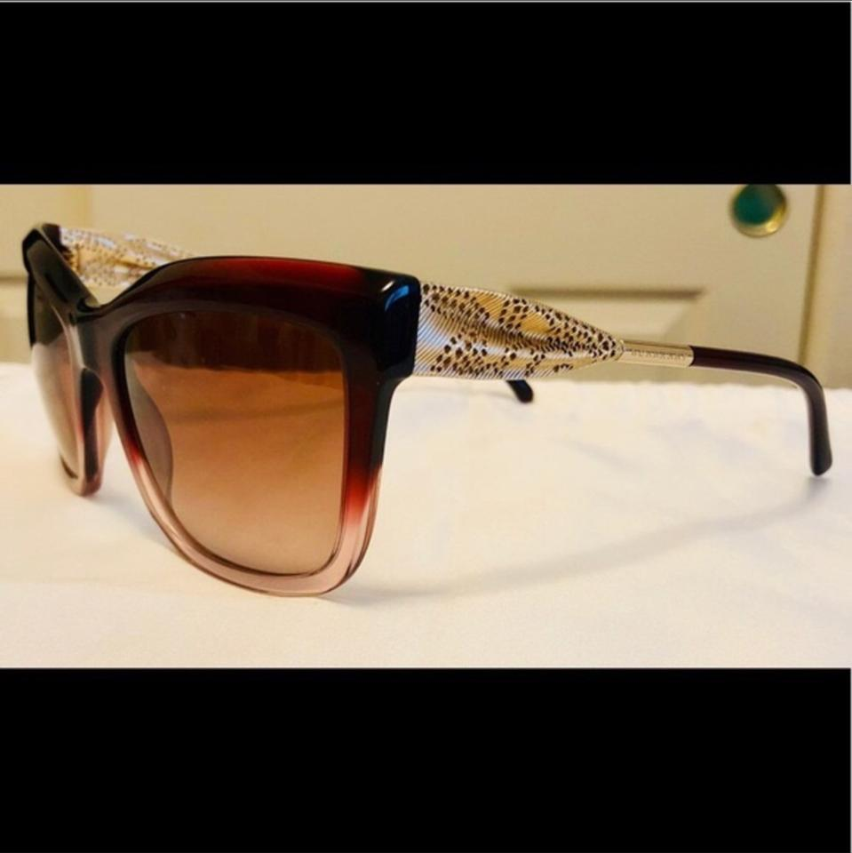 95d2496c9d Burberry Pink  Brown Na Sunglasses - Tradesy