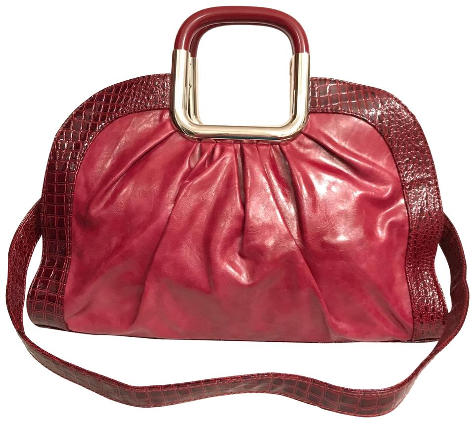 308147d7b604 Koret New Red Faux Leather Satchel - Tradesy