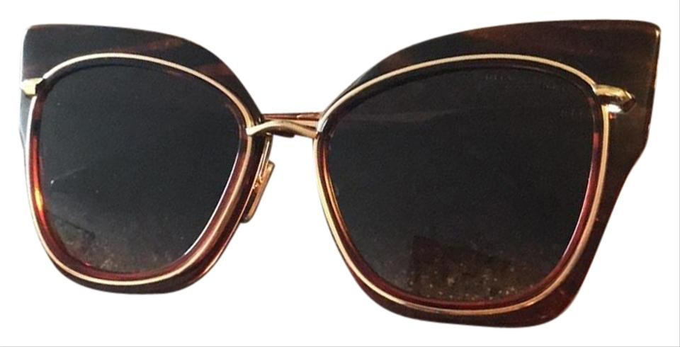 0047385abee Dita Red - Gold Stormy Sunglasses - Tradesy