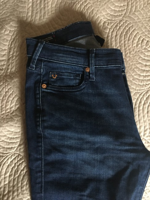 True Religion Super Ripped Knees Skinny Jeans Image 4