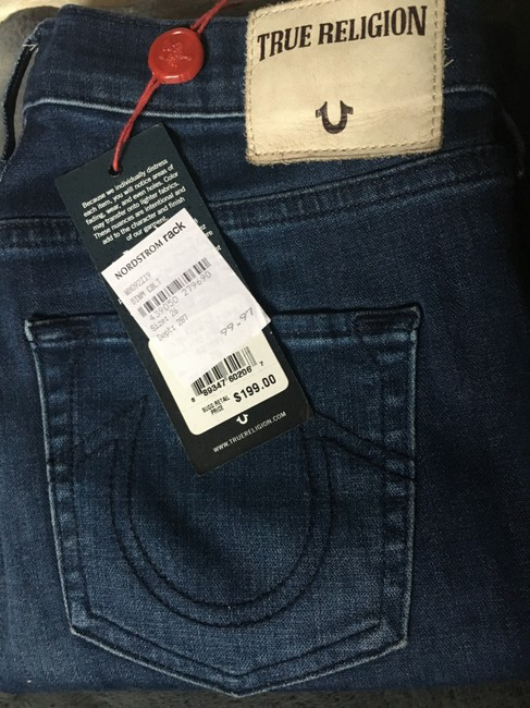 True Religion Super Ripped Knees Skinny Jeans Image 6