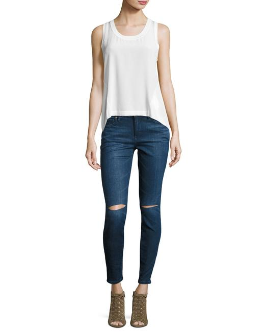 True Religion Super Ripped Knees Skinny Jeans Image 9