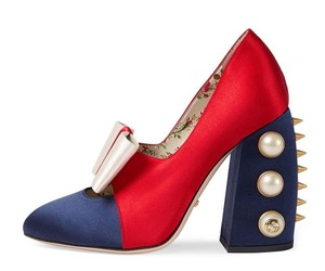 Gucci Red blue Pumps