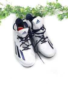 adidas White/Blue Athletic