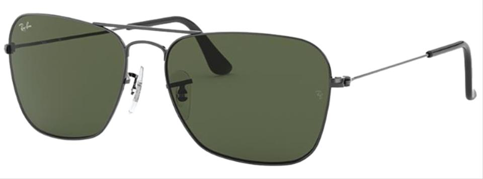 3df84e6c03 Caravan Black Frame   Green Classic G-15 Lens Rb3136 004 Square Style  Unisex Sunglasses.  168.00 Shipping Included. View Original Listing. Ray-Ban  RB3136 ...