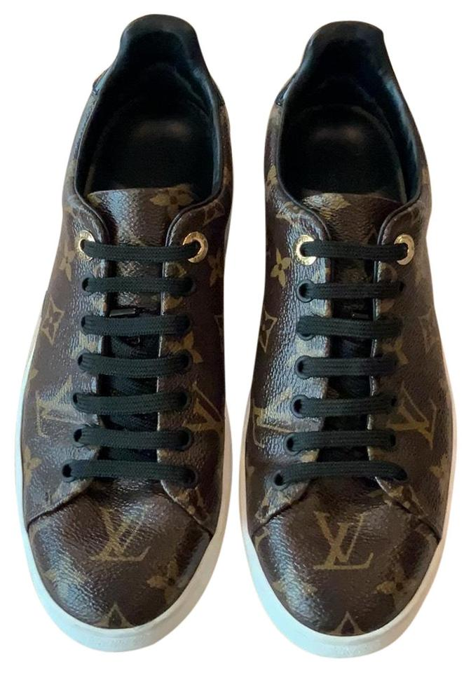 c6be4c0f9abf Louis Vuitton Monogram Frontrow Sneaker 1a1f4f Sneakers Size EU 37.5 ...