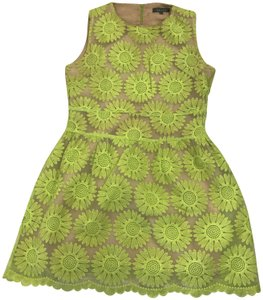 Gracia short dress green on Tradesy