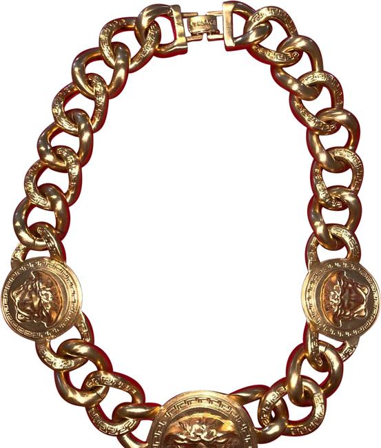 Versace Gold Necklace Versace Gold Necklace Image 1
