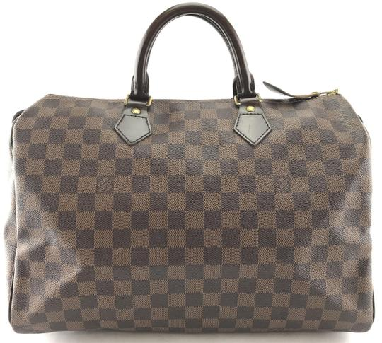 Preload https://img-static.tradesy.com/item/24890291/louis-vuitton-speedy-duffle-27665-35-boston-duffel-gym-travel-brown-coated-canvas-satchel-0-2-540-540.jpg