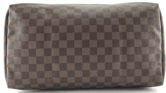Louis Vuitton Lv Damier Speedy 35 Satchel in Brown Image 3