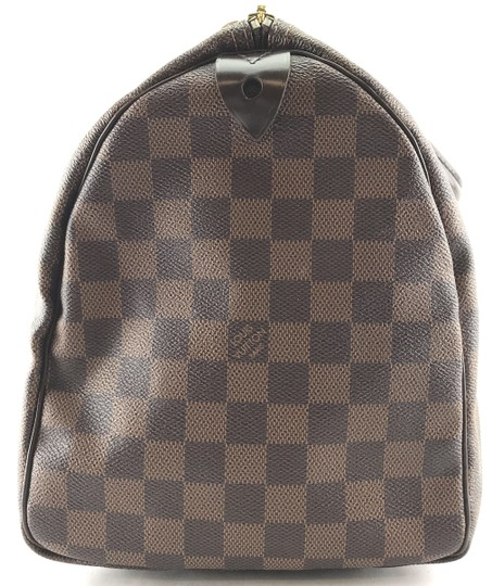 Louis Vuitton Lv Damier Speedy 35 Satchel in Brown Image 6