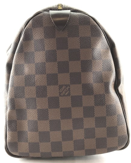Louis Vuitton Lv Damier Speedy 35 Satchel in Brown Image 7