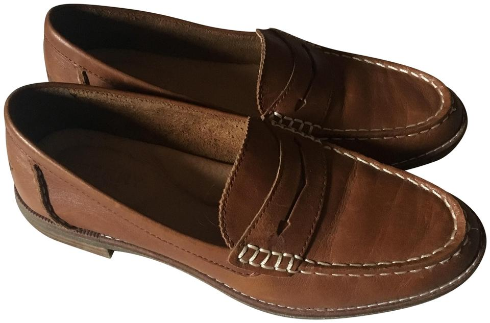 Sperry Tan Women's Seaport Penny Loafer Flats Size US 5 ...