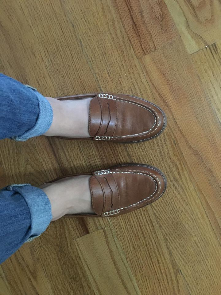 f389cac732e52 Sperry Tan Women's Seaport Penny Loafer Flats Size US 5 Regular (M, B) 48%  off retail
