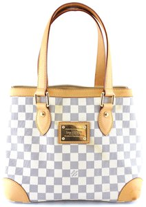 e963c164256f Louis Vuitton Hampstead Bucket  27667 Pm Open Top Tote Work Damier ...
