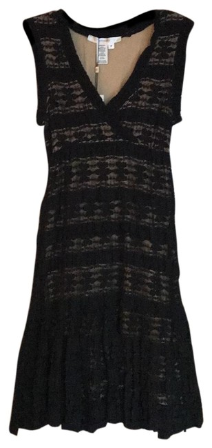 Item - Black Fiorenza Short Night Out Dress Size 8 (M)