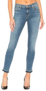 J Brand Mid Rise Skinny Jeans-Light Wash