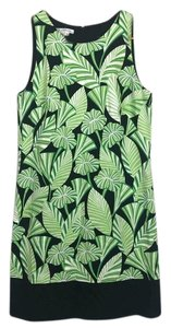 Maggy London short dress Green, black and white on Tradesy