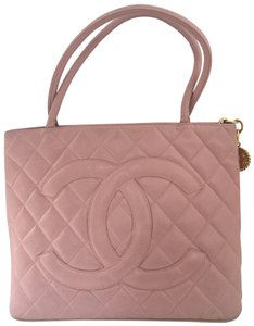 3deea7f74769ac Chanel Classic Collectible Designer Rare Timeless Tote in Pink