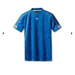 adidas Originals by Alexander Wang T Shirt Blue
