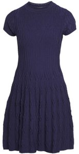 The Kooples short dress Navy on Tradesy