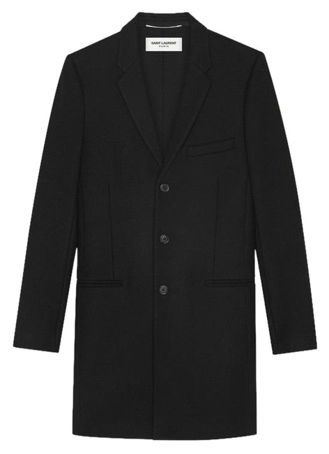 Preload https://img-static.tradesy.com/item/24891431/saint-laurent-black-chesterfield-with-pointed-lapels-in-wool-coat-size-12-l-0-1-650-650.jpg