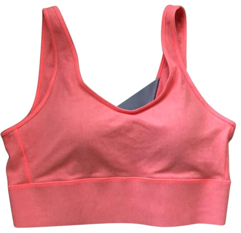 0bcbfb484d226 Under Armour Pink and Grey Collection Activewear Sports Bra Size 12 ...