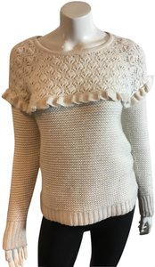Autumn Cashmere Dolman Sleeve Cable Knit Sweater