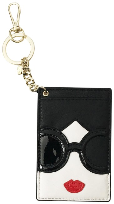 Item - Multi Colored Stace Face Card Holder/Wallet Keychain Wallet