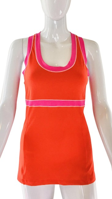 Item - Red Tank Activewear Top Size 8 (M)