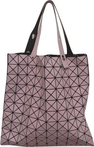 563153f4720a92 Issey Miyake Work School Tote in Matte Pink