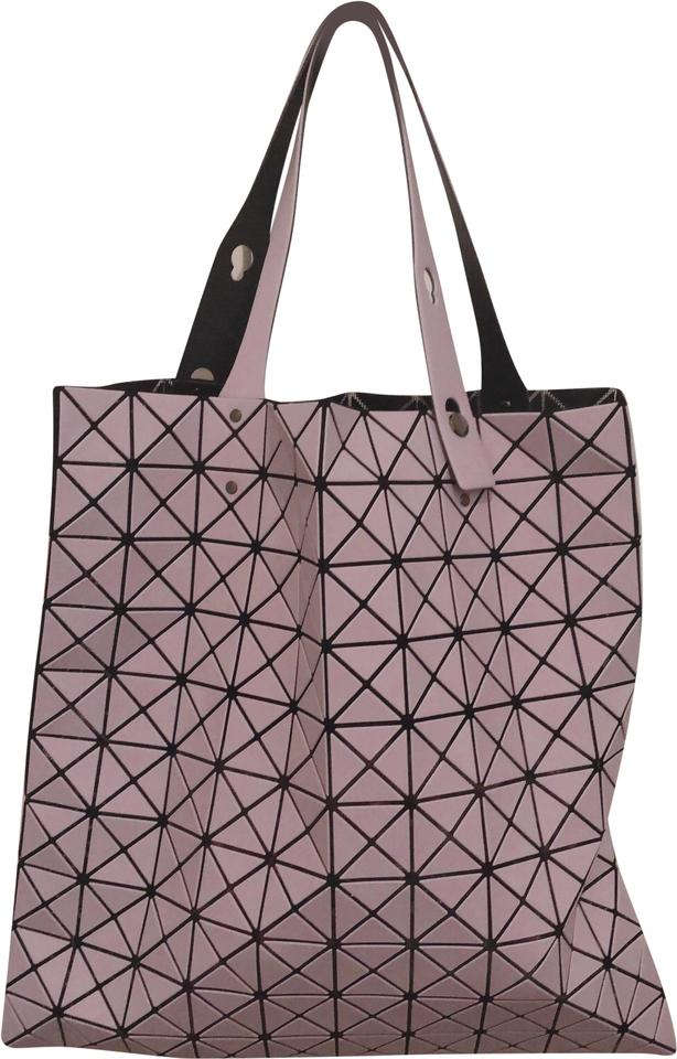 Issey Miyake Prism Frost Matte Pink Polyester Tote - Tradesy 598b173177367