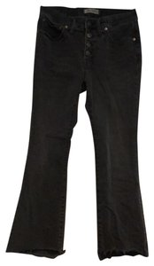 Madewell Boot Cut Pants black denim