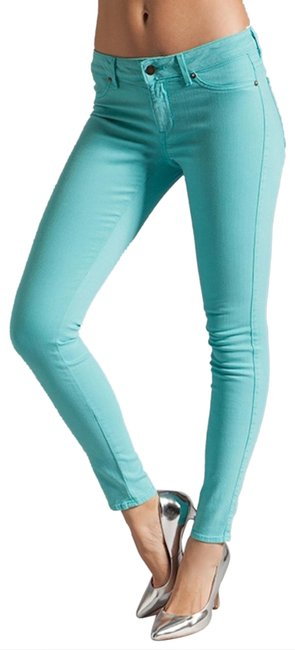 Item - Turquoise Legacy Skinny Jeans Size 27 (4, S)