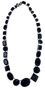 Etienne Aigner New Crystal Glass Statement Necklace