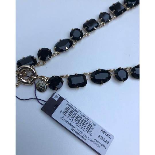 Etienne Aigner New Crystal Glass Statement Necklace Image 4