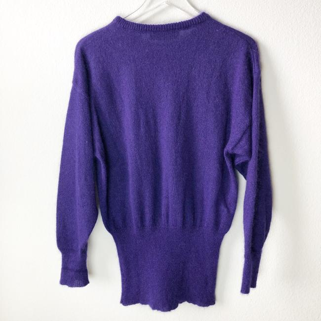 Escada Embellished Sequin Vintage Mohair Wool Sweater Image 1